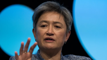 Labor's foreign affairs spokeswoman, Penny Wong, has called for deeper engagement with global bodies.