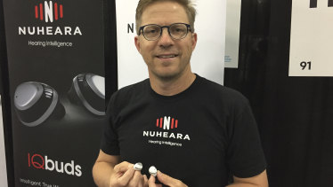 """Nuheara chief executive Justin Miller: """"We're creating the market we're selling into – this hasn't existed before."""""""