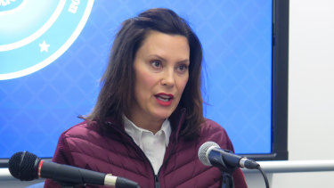 Michigan Governor Gretchen Whitmer has criticised the federal government's response.