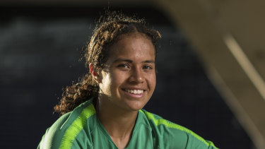 Mary Fowler has been declared fit to play should she be needed in the Matildas' final group game.