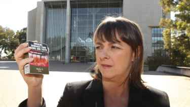 In 2012, then-attorney-general Nicola Roxon had to defend the plain packaging legislation in the High Court.