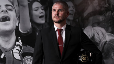 Newly appointed Wanderers head coach Carl Robinson.