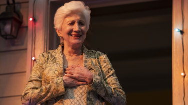 Olympia Dukakis' character, Anna Madrigal, is the focus of attention as she turns 90 in Armistead Maupin's Tales of the City.