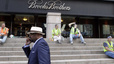 Brooks Brothers will permanently close more than a quarter of its 200 stores.