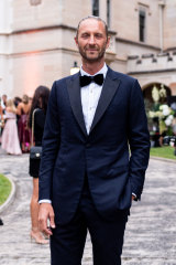 Justin Hemmes was due to host the 'Haute Boheme-themed' soiree last night at his waterfront mansion.