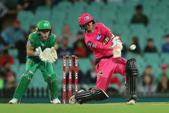 The Sixers and Stars in action earlier this year in the BBL final.