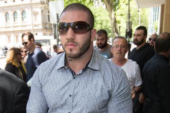 Abdulrahim outside court in 2016.