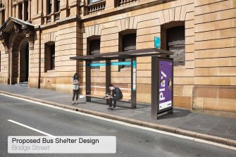 The proposed bus shelters are similar to what is already on Sydney's streets. The council decided not to buy them from incumbent advertising provider JCDecaux.