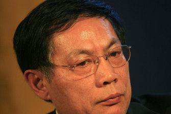 Ren Zhiqiang, chairman of Beijing Huayuan Group, pictured at the Caijing Annual Conference in 2009.
