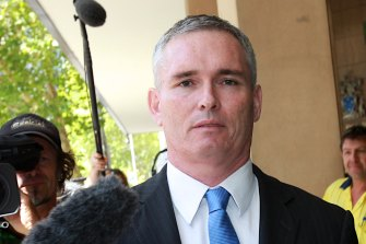 Craig Thomson, pictured in 2014, was subject to AFP raids last week.