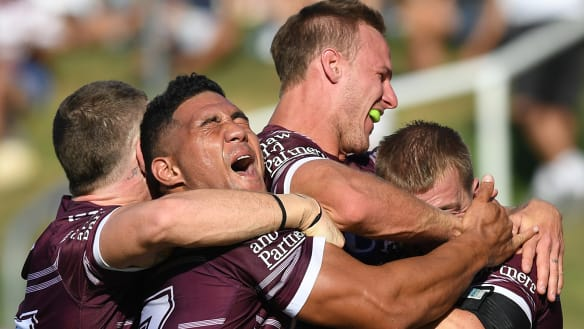 Sea Eagles too hot to handle in record rout of awful Eels