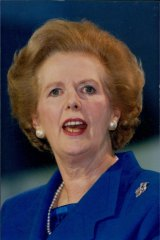 Margaret Thatcher's 1983 campaign was helped by internecine warfare within the Opposition.