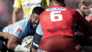 Repeat offender: When will Waratahs hooker Tolu Latu learn his lesson?