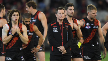 Essendon in AFL-approved defeat mode.
