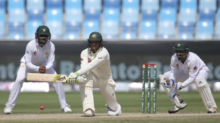 Khawaja demonstrated his complete arsenal of strokes in his remarkable innings.