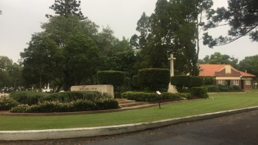 Canon Garland Place inside Toowong Cemetery.