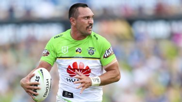Jordan Rapana celebrated his 100th NRL game in style - with a mo and a double.