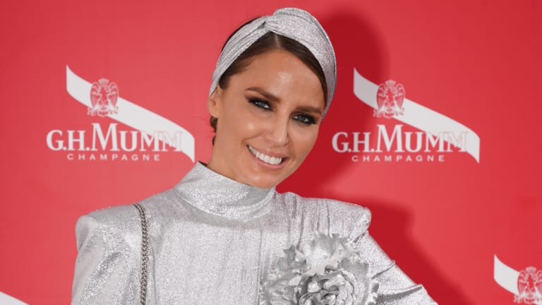 Jodi Anasta goes all Norma Desmond in the fashion stakes at this year's Melbourne Cup.