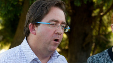 Outraged over Adani suggestions: James McGrath.