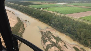 The Ian Potter Foundation is already contributing funds to a sediment-control down the Burdekin River towards the Great Barrier Reef.
