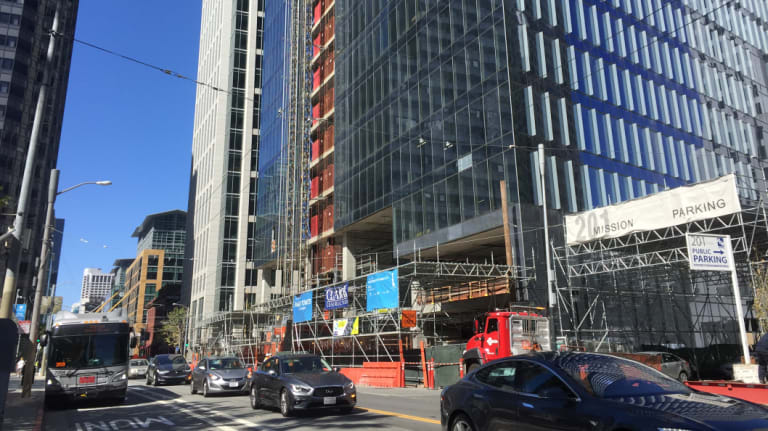 Facebook will move into San Francisco and occupy all 37 storeys of this building.