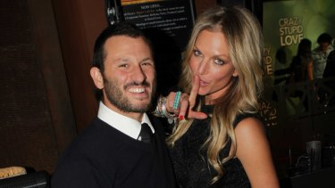 Danny Goldberg and Annalise Braakensiek in happier times.