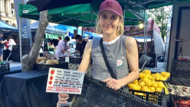Farmer Liz Jarman has invested in a metal detector and sold all of her strawberries half way through Wednesday.