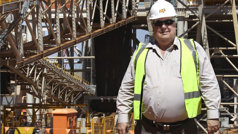 Clive Palmer proposed a very similar project in 2009 for Waratah Coal's Galilee operation.