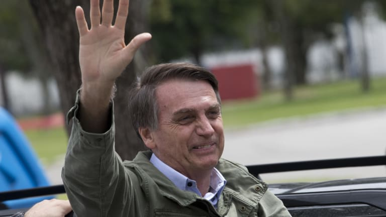 President-elect Jair Bolsonaro has pledged to follow the US in moving Brazil's Israel embassy to Jerusalem.