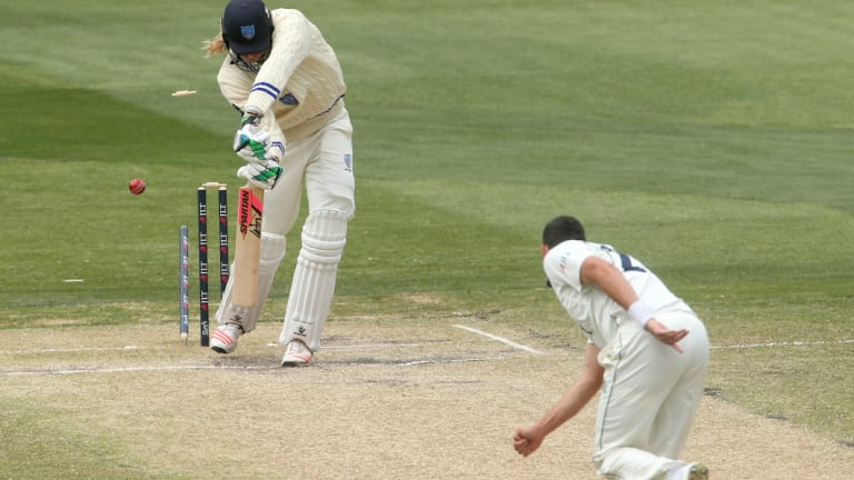 Scott Boland took the final wicket on Sunday.