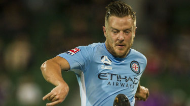 Scott Jamieson will return soon for Melbourne City.