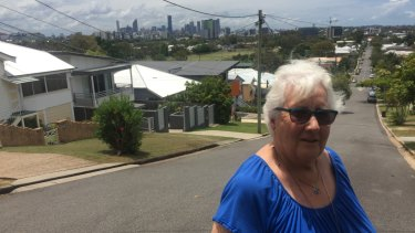 The city views from Stephens Mountain at Greenslopes behind Greenslopes Hospital.
