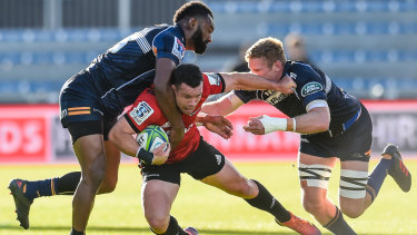 The Brumbies couldn't hold off the Crusaders in a second half onslaught.