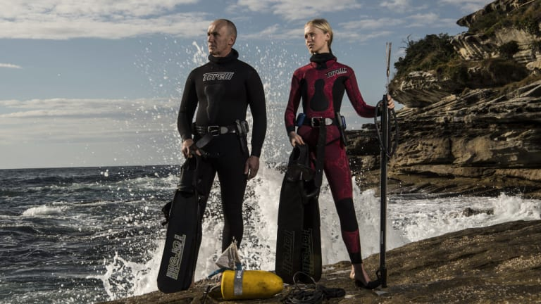 "Ian ""Pucko"" Puckeridge and his daughter Lara want their ability to spearfish along Sydney's coast line to continue."