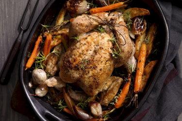 A great roast chicken recipe from Jill Dupleix.