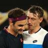 John Millman takes Roger Federer to the brink in thrilling fifth-set tiebreaker