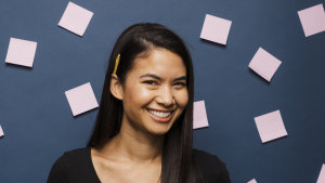 Melanie Perkins is the co-founder and chief executive of Canva which is now valued at $19 billion.
