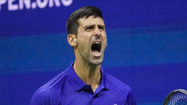 Novak Djokovic says getting the vaccine should be up to the individual.