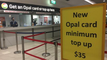 'You'll get a cab': New $35 minimum for Opal card at Sydney Airport