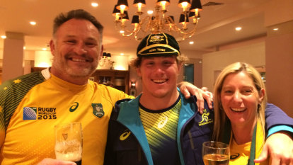 Mum's the word: The maternal motivation that's taken Hooper to a Wallabies century