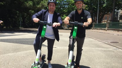 Lime's new year's resolution: Get scooters on Brisbane cycle paths, roads
