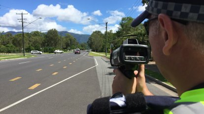 Driver clocked at 155km/h in a 60km/h zone