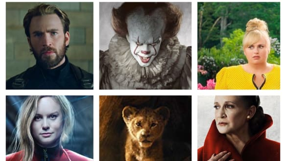 Lion King, Avengers, IT 2: the biggest films to watch in 2019
