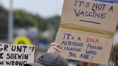 Social media chatter skyrockets among Australian 'anti-vax' groups