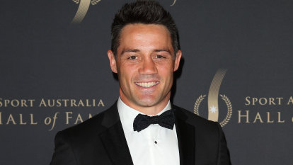 Cronk and Finch on the outer as Fox slash costs
