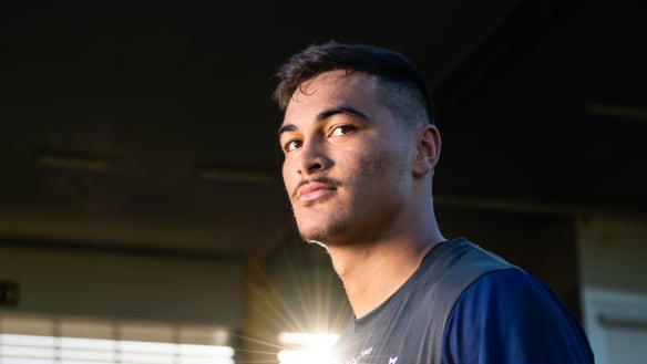 How a Folau-loving leaguie is on the cusp of a Wallabies debut at 18