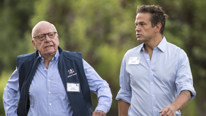 Rupert and Lachlan Murdoch to forgo salaries due to hit from coronavirus