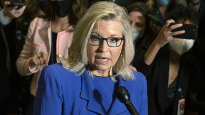 House Republicans oust Trump critic Liz Cheney from top post