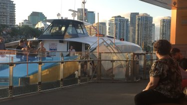 Seniors have hopped on board Brisbane ferries at a higher rate with council's free off-peak travel initiative.