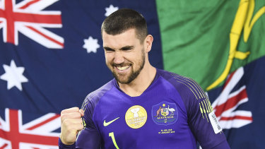 Big opportunity: Mat Ryan and the Socceroos could be playing against the best of South America in 2020.